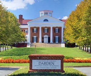 The University of Virginia Darden School of Business
