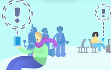 Network with Fellow Passengers While Waiting at The Airport