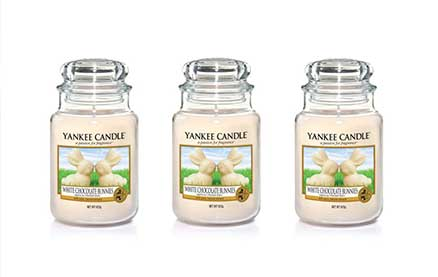 Yankee Candle Released a White Chocolate Bunnies Candle for Easter