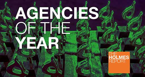 Coyne PR Named Creative Agency of the Year Finalist by The Holmes Report