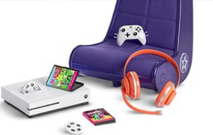 American Girl Unveils Xbox Gaming Set for Dolls