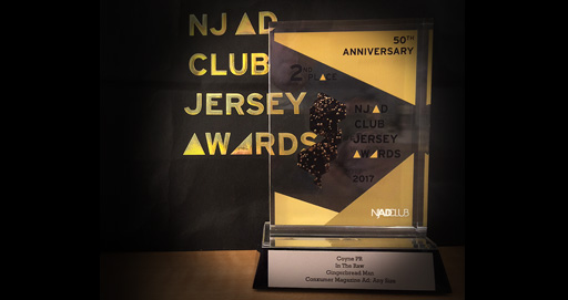 Coyne PR Recognized at NJ Ad Club Jersey Awards