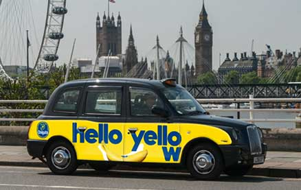 You Can Pay for a Taxi with a Chiquita Banana in London