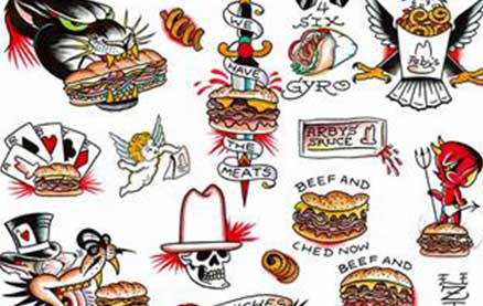 For One Day, Arby's is Paying For Fans to Get FREE Actual Sandwich Tattoos