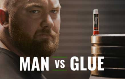 Krazy Glue Challenges The World's Strongest Man to a Strength Competition