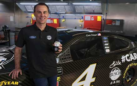 Busch Made Beer Cans Out of a Race Car and You Can Win One