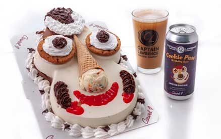 Beloved Carvel Ice Cream Monstrosity Cookie Puss Now Has Its Own Beer