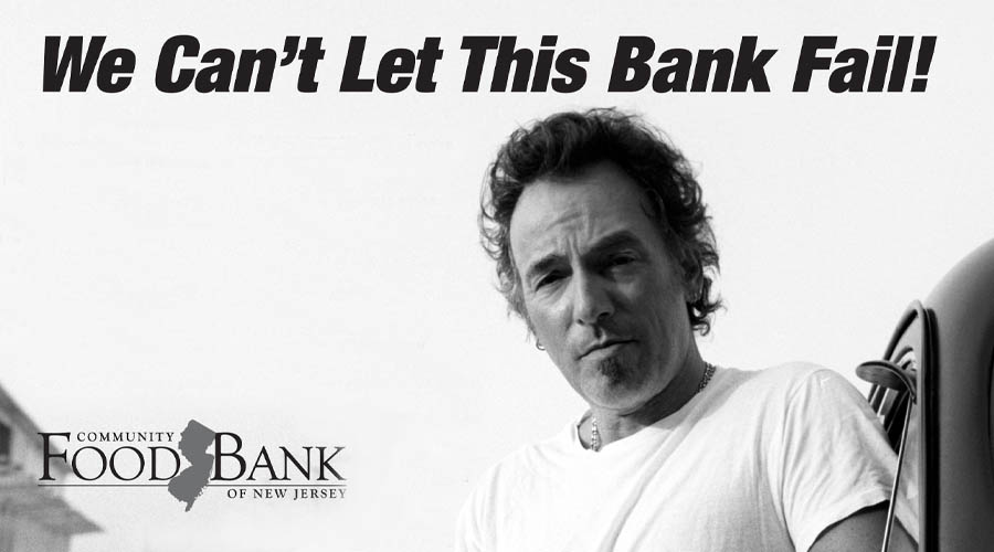 Bruce Springsteen We Can't Let This Bank Fail