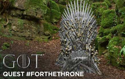 HBO Scattered 6 Iron Thrones Around the World For Game of Thrones Fans to Find Ahead of The Season 8 Premiere