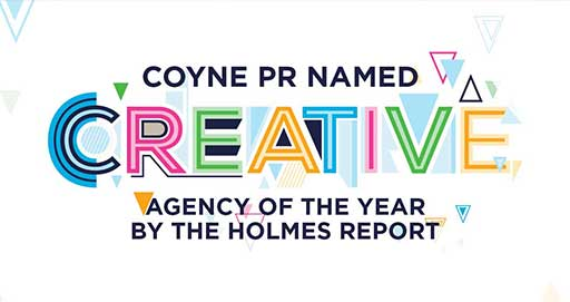 Coyne PR Named 2019 Creative Agency of the Year by The Holmes Report