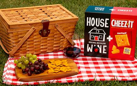 Cheez-It and Boxed Wine Come Bundled Together in This Unexpected Summer Collaboration
