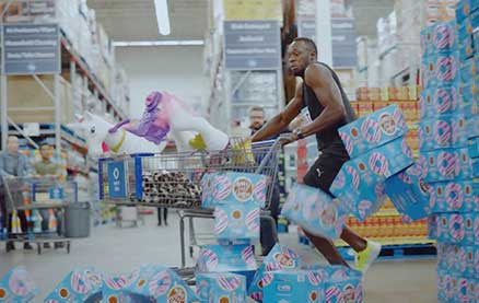 Sam's Club Campaign Features Olympians to Showcase Speedy Check-Out Technology